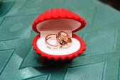 结婚戒指 — 图库照片