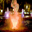 Colored fountain — Stock Photo #3966418