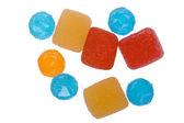 Сладкие конфеты крупным планом — Стоковое фото