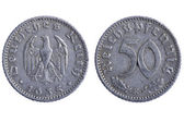 Deutches reich coins — Stock Photo