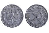 Deutches reich coins — Stock Photo