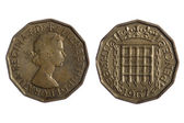 English coins — Stock Photo