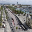 Old Port in the Barcelona - Stock Photo