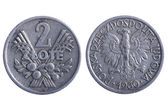 Poland coins — Stock Photo
