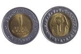 Monete di egitto — Foto Stock