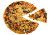 Pizza macro — Stock Photo