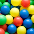 Color balls close up — Stock Photo