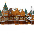 Постер, плакат: The wooden palace of Tsar Alexei Mikhailovich