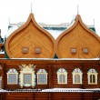 Постер, плакат: The wooden palace of Tsar Alexei Mikhailovich close up