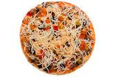 Raw pizza — Stock Photo