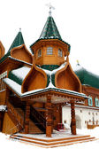 The wooden palace — Stock Photo