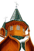 The wooden palace close up — Stock Photo