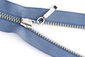 Sewing zipper close up — Stock Photo