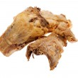 Fried chicken close up — Stock Photo