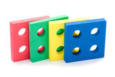 Geometric toy for children close up — Stock Photo