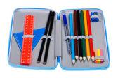 Pencil case macro — Stock Photo