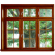 Oak for the wooden window - Foto Stock