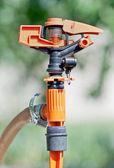 Garden sprinkler — Stock Photo