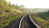 Ferrocarril — Foto de Stock