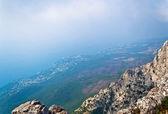 查看从 aypetri 山 — 图库照片
