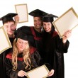 Group of happy students — Stock Photo #5345830
