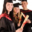 Group of happy students — Stock Photo #5345831
