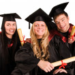 Group of happy students — Stock Photo #5345832