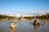 Neptune Fountain in Pertergof, Saint-Petersburg, Russia — Stock Photo