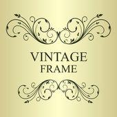 Fondo vintage ilustración — Vector de stock