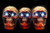 Halloween Party Skulls. — Stock Photo
