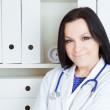 Doctor woman in office — Stock Photo #4852639