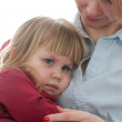 Little girl with mom — Stock Photo #3932430