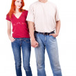 Couple hand in hand — Stock Photo #3933806