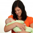 Loving mother with baby — Stock Photo #4000732