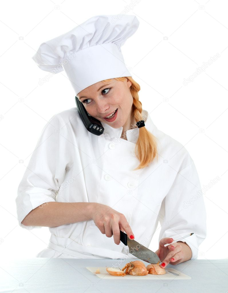 Lady chef clipart - ClipartFest