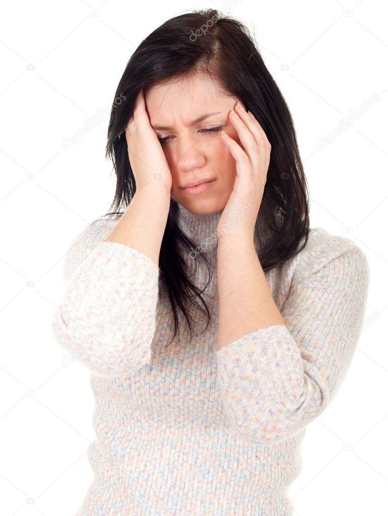 bolest hlavy na jedné straně