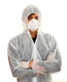 Man in protective workwear — Stock Photo