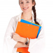 Smiling student woman — Stock Photo #4876524