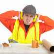 Worker in protective waistcoat — Stock Photo #5169999