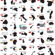 Royalty-Free Stock Imagen vectorial: Countries of Europe