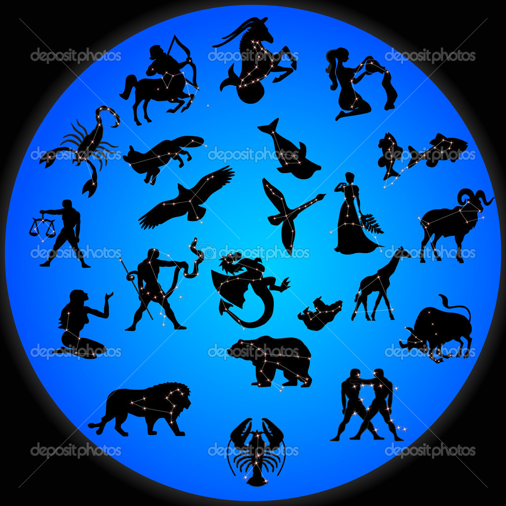 Constellations  Stock Vector #5315522