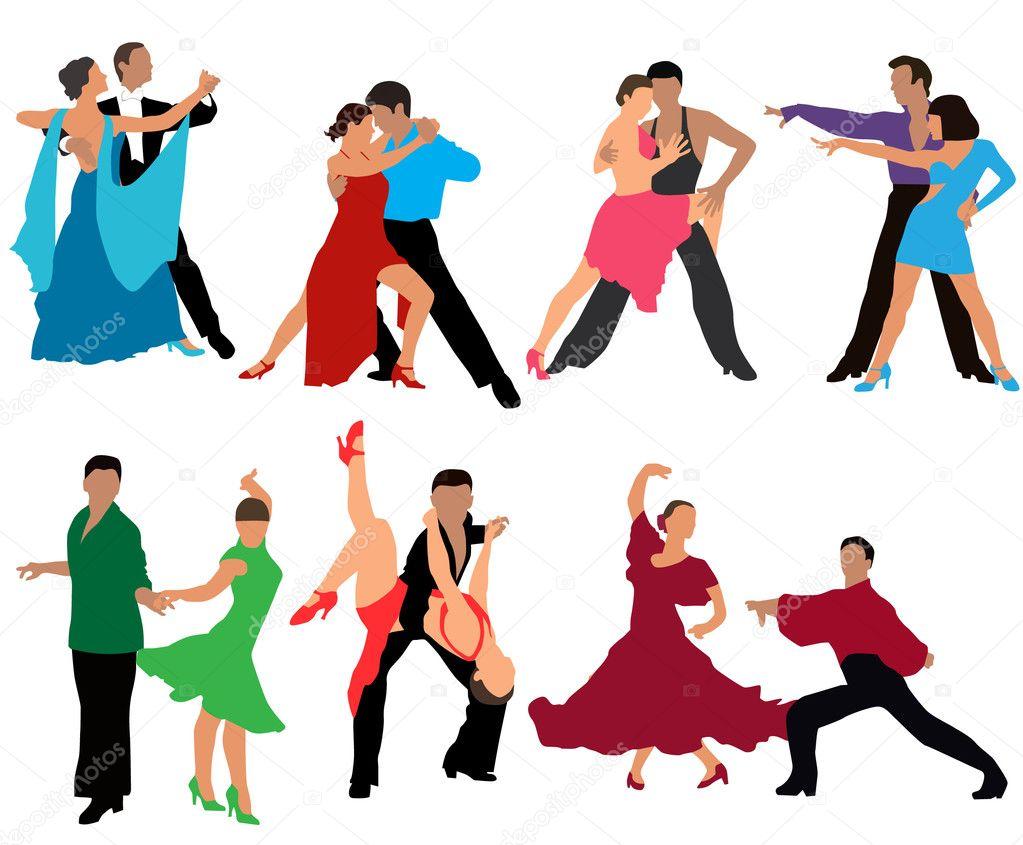 Танец рисунки танца