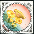 Stamp printed by Mongolia - Stock Photo