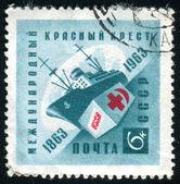 почтовая марка — Стоковое фото