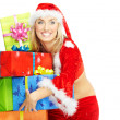Santa with gifts — Stock Photo #4150316