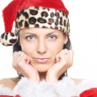 Royalty-Free Stock Photo: Female Santa