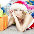 Stock Photo: Christmas gifts
