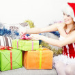 Christmas preparation - Stock Photo