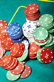 Casino chips — Stock Photo
