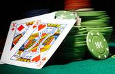 Carte da poker — Foto Stock